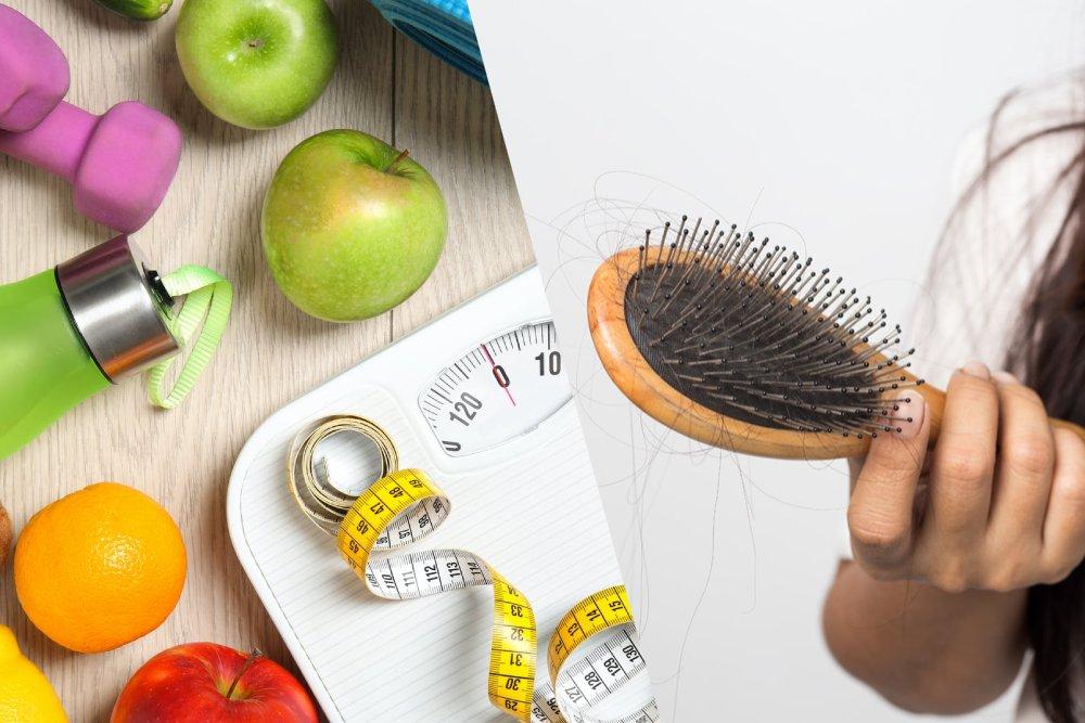 آیا کاهش وزن زیاد باعث ریزش مو می شود؟