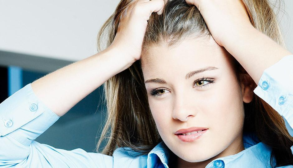 ریزش مو از استرس