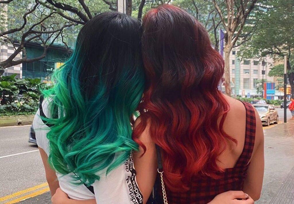 رنگ کردن مداوم و بیش از حد مو ها