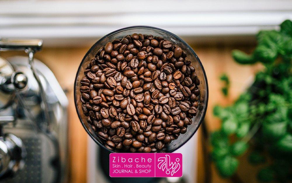 رنگ موی تیره طبیعی با قهوه