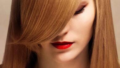 صاف و براق کردن طبیعی مو
