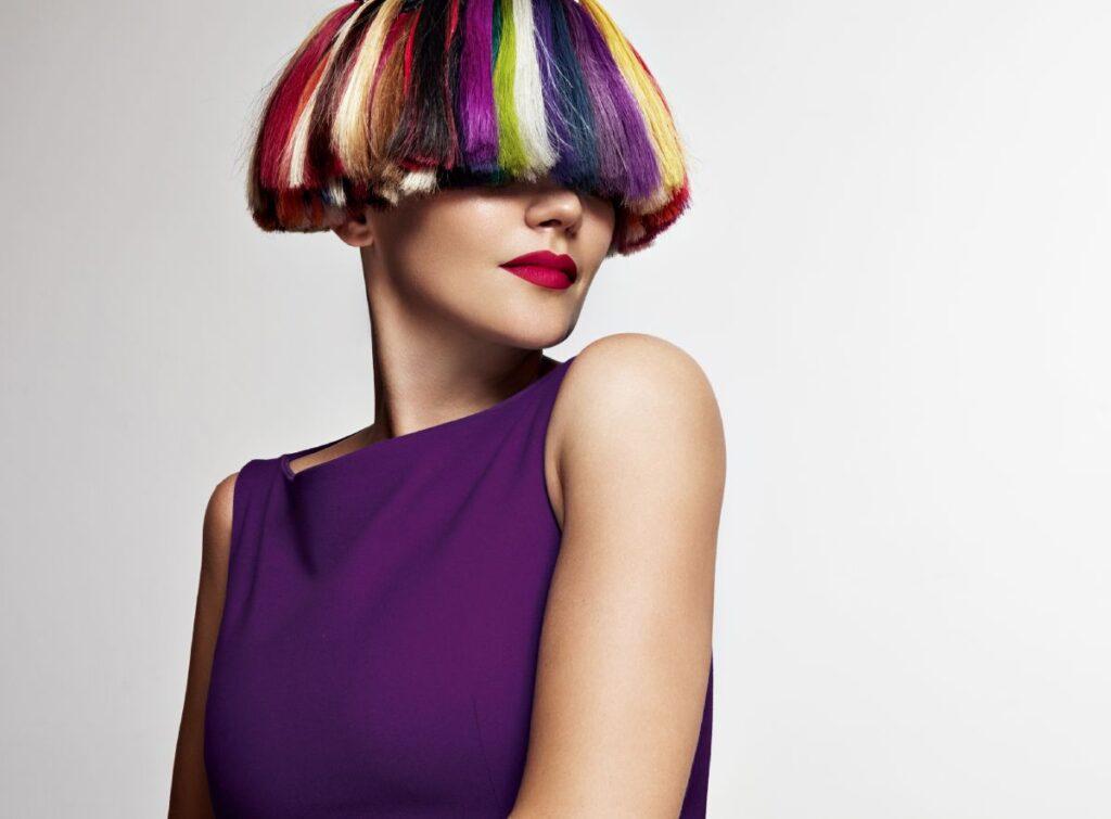 با رنگ موی موقت میتوانید، رنگ های مختلف را آزمایش کنید
