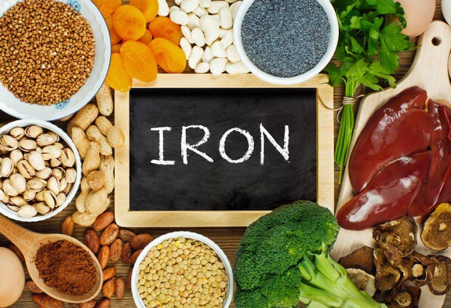منابع خوراکی سرشار از آهن
