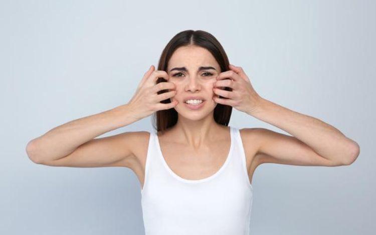 درمان خارش پوست صورت